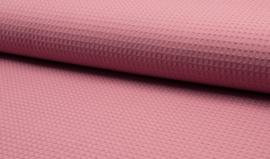 wafelkatoen kleur Oud roze art WF0186-014