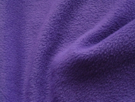 Polar fleece kleur paars   € 5,00 per meter Art FB805