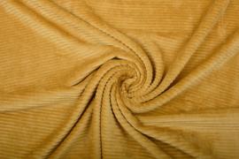Jersey  corduroy   Oker    Art CD82 -40 cm voor