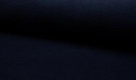 jersey Corduroy donkerblauw    Art KC8316-008