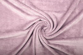Jersey  corduroy   oud roze  Art CD073 -40 cm voor
