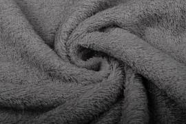 Badstof kleur  Grijs    art BA-072 € 12,00 per meter . 50 cm voor