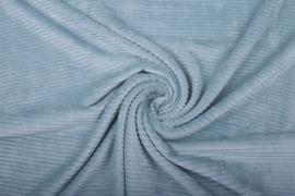 Jersey  corduroy   babyblauw    Art CD12 -40 cm voor