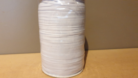 Wit soepel elastiek 5 mm  ( mondkapjes elastiek )  Aanbieding!!!