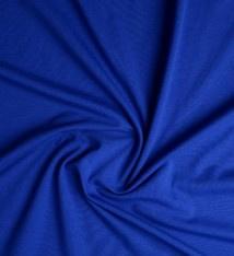 Cotton Jersey  kobalt  Art CY 009 - 40 cm voor