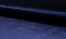 Stretch fluweel  Navy € 10,- p/m   - 20 cm voor