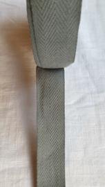 Keperband lichtgrijs   3 cm breed - 1 meter