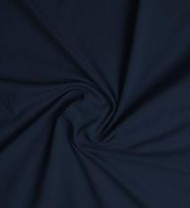 Cotton Jersey marine blauw  Art 30  - 40 cm voor