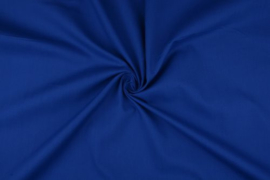 Katoen uni kleur kobalt   Art 3121- 14