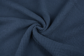 Wafelkatoen kleur Jeans art WF031