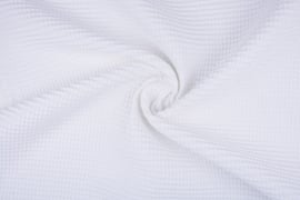 Wafelkatoen  Wit   art WF023