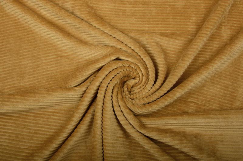 jersey Corduroy donker Ocre    Art CD182  - 40 cm voor