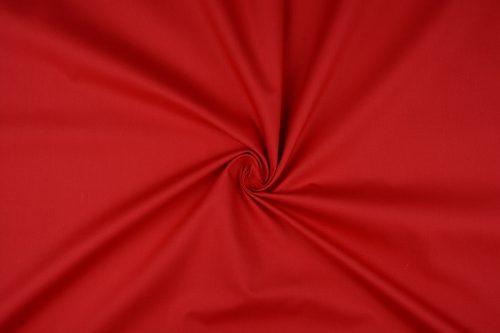Katoen uni  kleur rood   Art 5580- 15