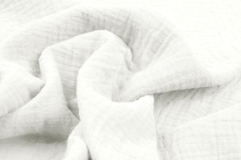 Hydrofiel doek 100% cotton   off withe Art 0186-1561