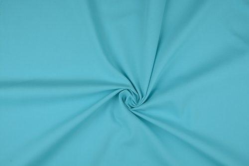 Katoen uni kleur aqua     Art 3121- 18