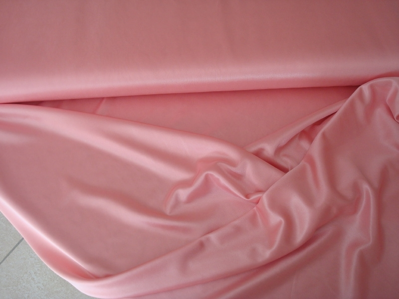 Chameuse stretch voering Kleur zalmroze  Art CH013