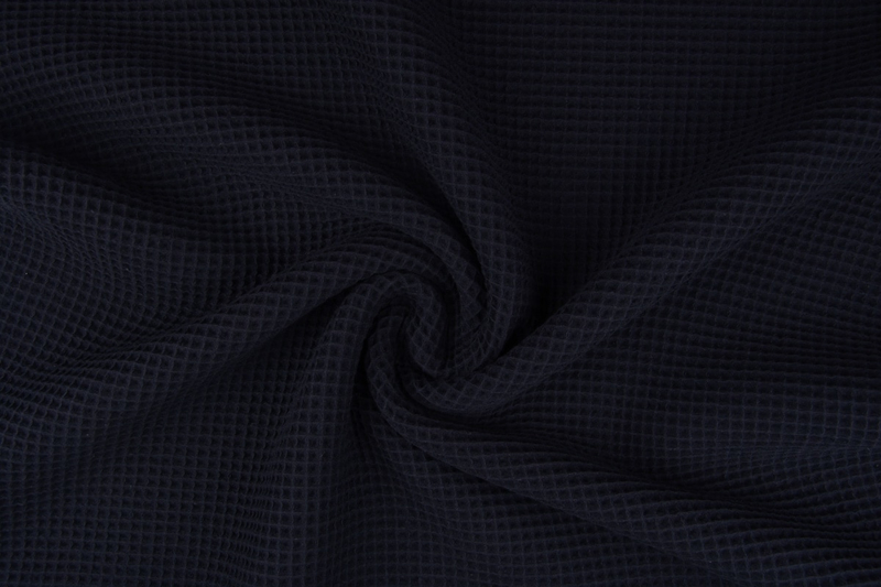 Wafelkatoen zwart  art WF22