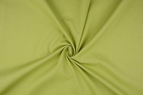 Katoen uni  kleur limegroen  Art 5580- 25