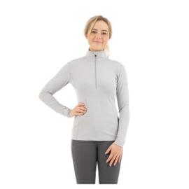 ANKY pullover half zip silver