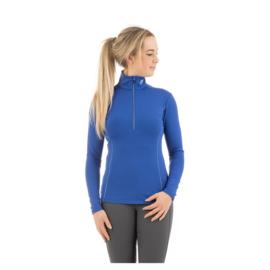ANKY pullover half zip blauw