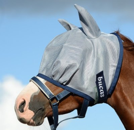 Bucas Buzz off Fly Mask, blue