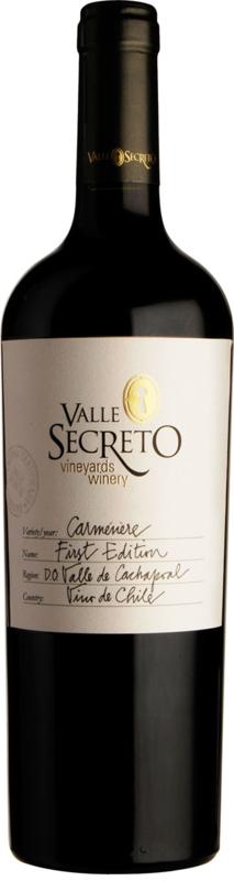 CHILI | Valle Secreto First Edition Carménère