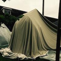 obstakels nomadentent