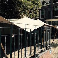 nomadentent in Haarlem