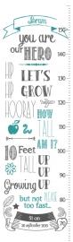 Groeimeter Grow Up Boy