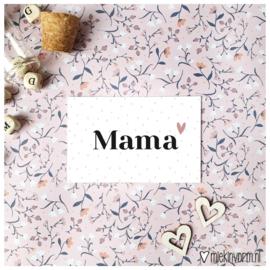 Mini -kaart || mama || per 5 stuks
