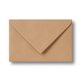 Envelop A6    kraft    per 50 stuks