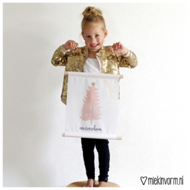 AANBIEDING!! || Textielposter || Ohh denneboom || 10 STUKS