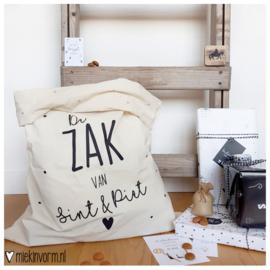 Sintzak 49cm x 70cm || De zak van Sint & Piet || per 2 stuks