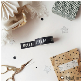 Masking tape || Hoera! || per 5 stuks