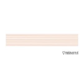 Masking tape    Horizontale streep    per 5 stuks