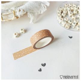 Masking tape || roest met vlekjes || per 5 stuks