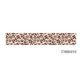 Masking tape    Luipaard roze    per 5 stuks