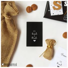 Liefs Sint & Piet || Mini-kaart || per 5 stuks