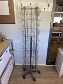 Kaartenmolen - A6 - 64 vakken - vloermodel - verticaal