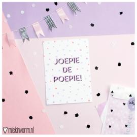 Joepie de Poepie || Ansichtkaart || per 5 stuks