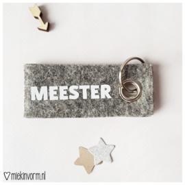 Sleutelhanger || Meester  || per 5 stuks