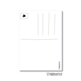 Enjoy this Xmas || Ansichtkaart || per 5 stuks