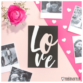 Love || Ansichtkaart || per 5 stuks
