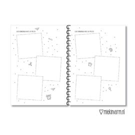Invulboek    De klas van juf/meester A5     per 5 stuks