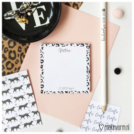 Post-it notes || Panter  || per 5 stuks
