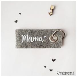 Sleutelhanger || Mama || per 5 stuks