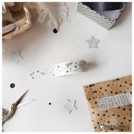 Masking tape || vliegtuigjes/hartjes/stipjes || per 5 stuks