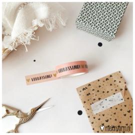 Masking tape || Verrassing! || per 5 stuks