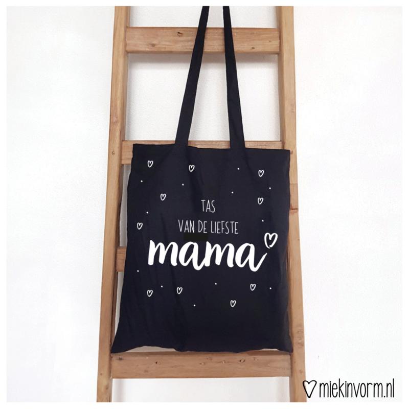Tas    Tas van de liefste mama    per 5 stuks