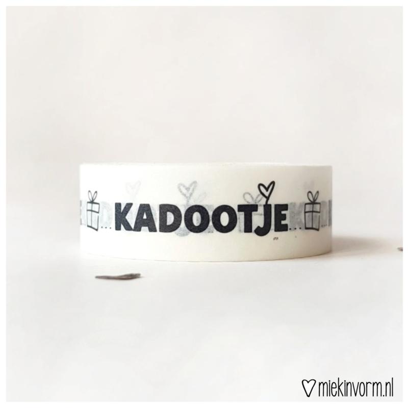 Masking tape || Kadootje || per 5 stuks